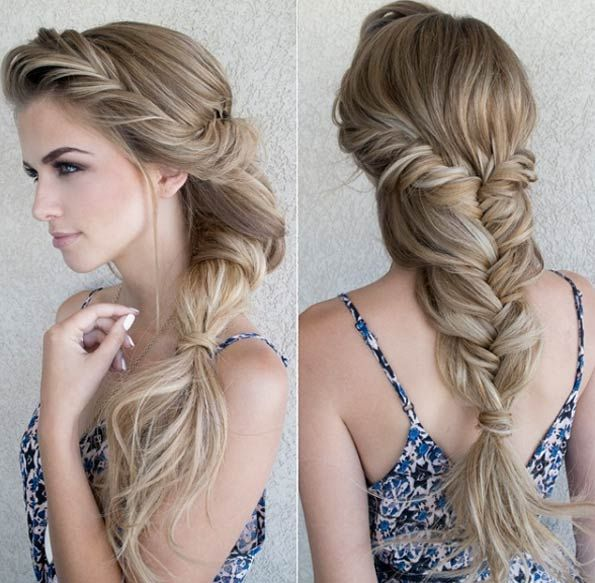 Mermaid Hairstyles add a starfish headband to your mermaid costume 40 Summertime Braids Youll Instantly Love
