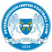 Peterborough United FC Logo. Get this logo in Vector format from http://logovectors.net/peterborough-united-fc/