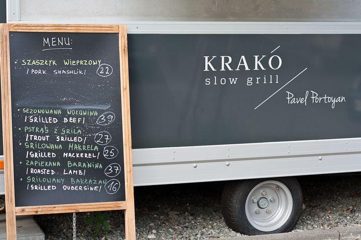 Great grilled meat food truck in Krakow. Krakó Slow Grill