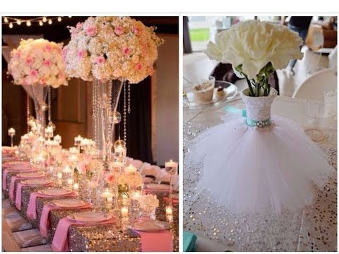 Glamorous Wedding Centerpiece Diy Dollar Tree Under