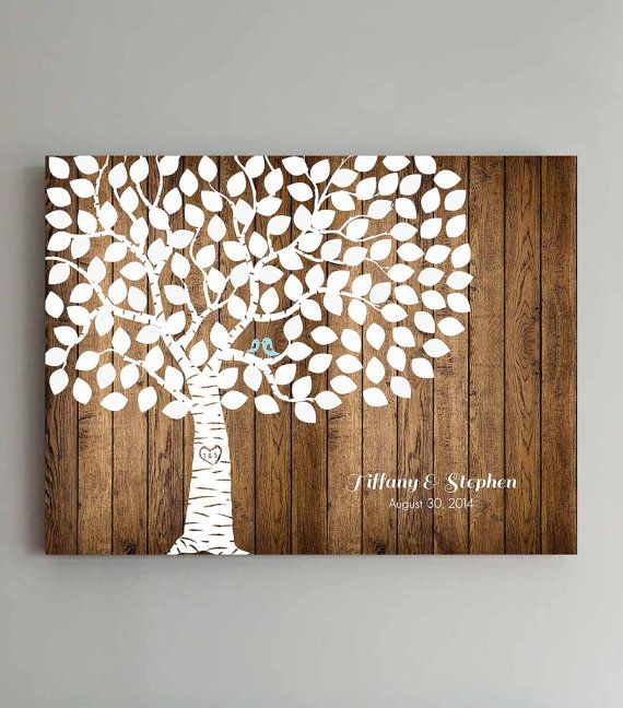 Hey, I found this really awesome Etsy listing at https://www.etsy.com/listing/181296021/125-guest-wedding-guest-book-wood