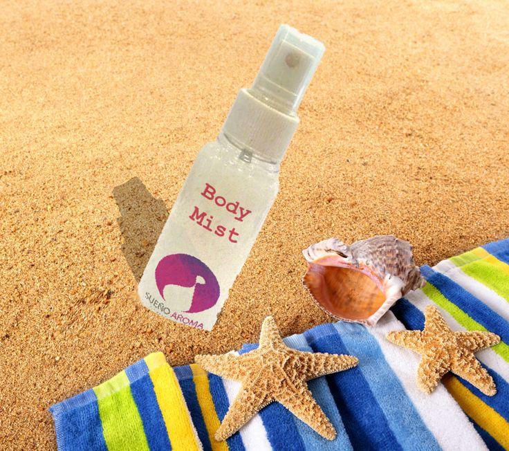 Body Mist 100ml Spray (Ενυδατικό άρωμα χωρίς Οινόπνευμα)