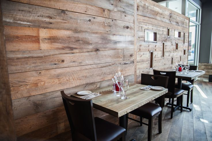 Restaurant Rouge Boeuf Interior design - Design intérieur Bois de ...