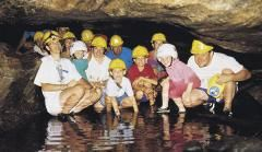 SO COOL! Explore Lusk Cave.