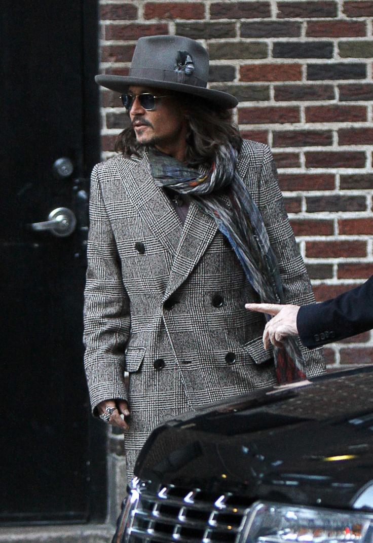 Image detail for -Johnny Depp ospite al David Letterman Show