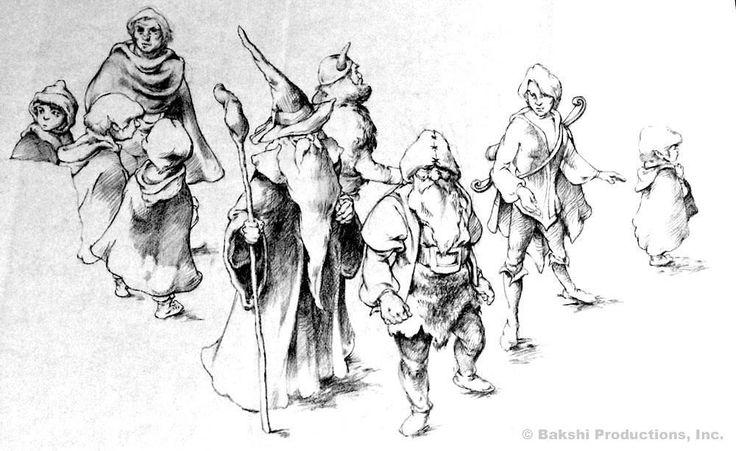 The Fellowship by Zingarelli #LOTR