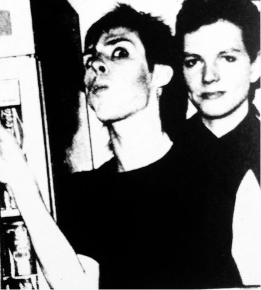 Peter Murphy and Kevin Haskins ( Bauhaus ) ♥♥♥♥