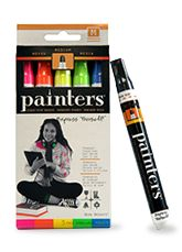 Elmer's Paint Markers. Not bad!