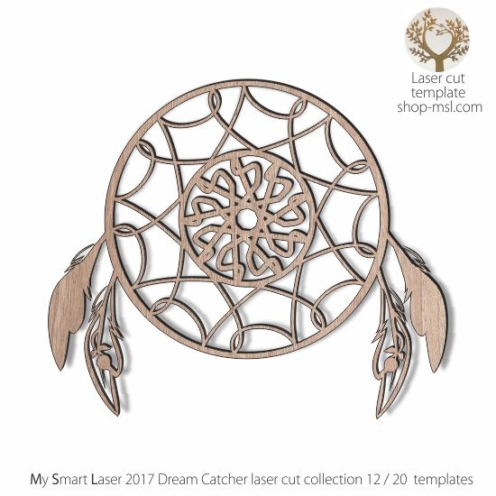 detailed dream catcher template for laser cutting 20 unique designed dream catchers