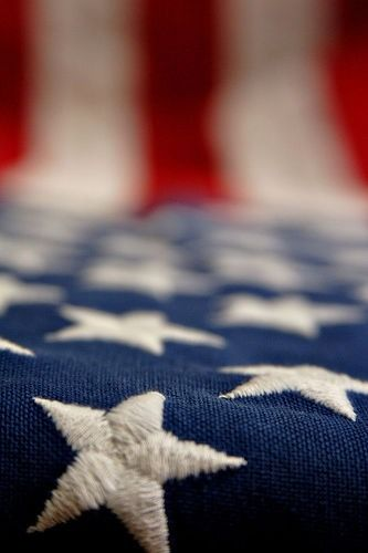 I truly love our American flag, how it looks the design of it, the stars and strips the colors and their meaning.  I think our USA flag is BEAUTIFUL, and I am so proud to fly it and stand behind it to protect it and it's people.  Toni Lee Giambrone