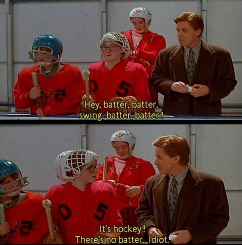 Mighty Ducks: Goalie, Baldwin, Favorite Movies, Mighty, Books Movies Tv Artists, Ducks, Coach Bombay Calls, Books Music Tv Movies, Kid Movies