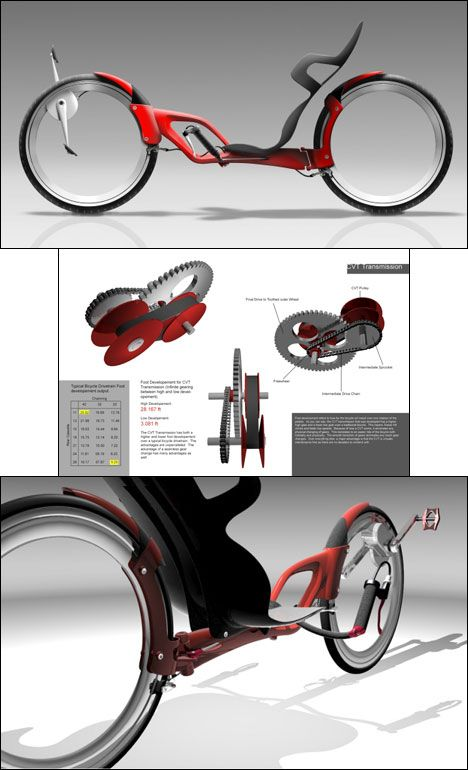 Mathew Zurlinden's Legato GT recumbent bicycle