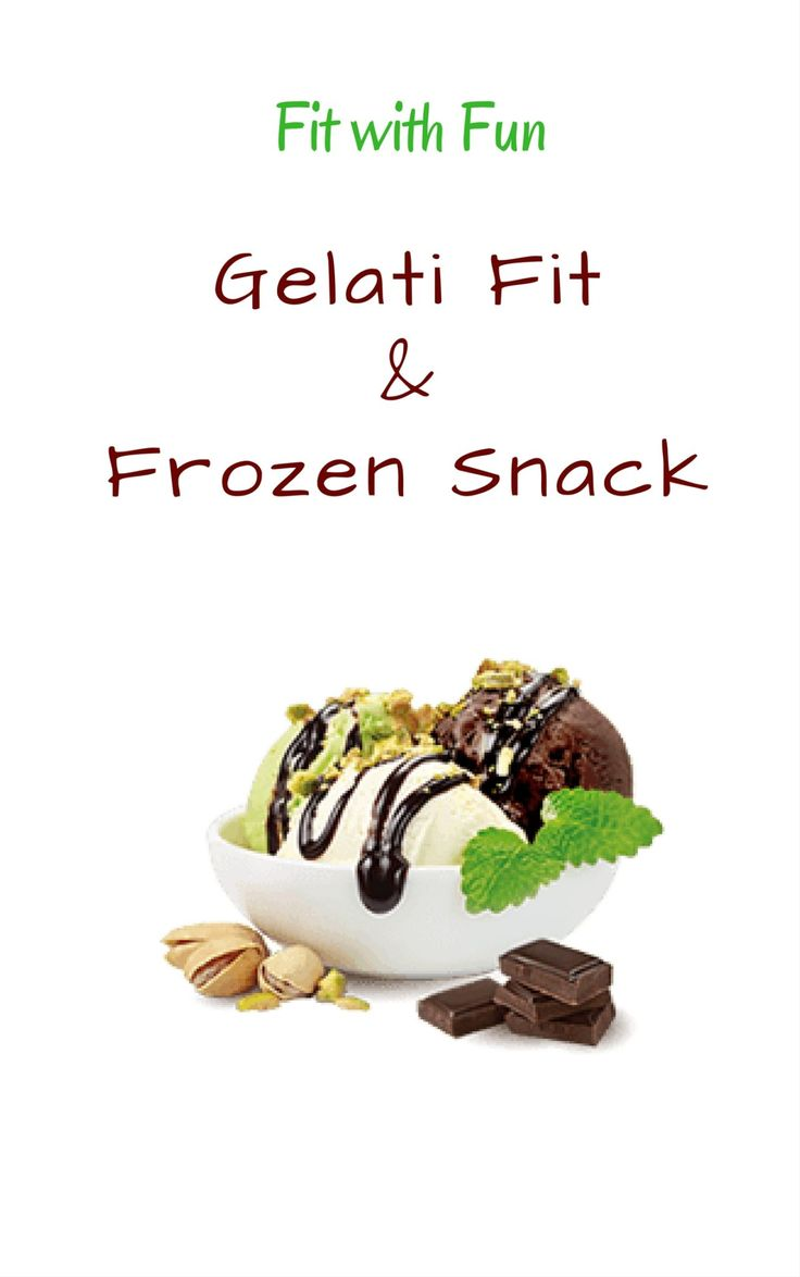 EBook Gratuito Gelati Fit & Frozen Snacks Fit with Fun: voglio farti tornare bambino senza preoccuparti di Calorie e Grassi. Gelati adatti a TUTTI!