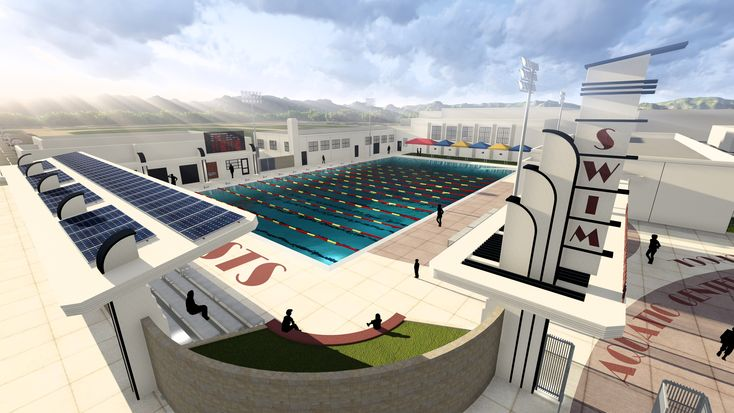 On the Boards: Anaheim High School Aquatics Center