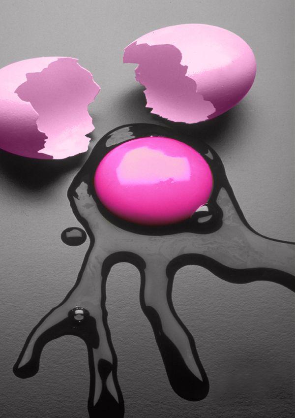 Esta no es una flor pero es huevo rosa