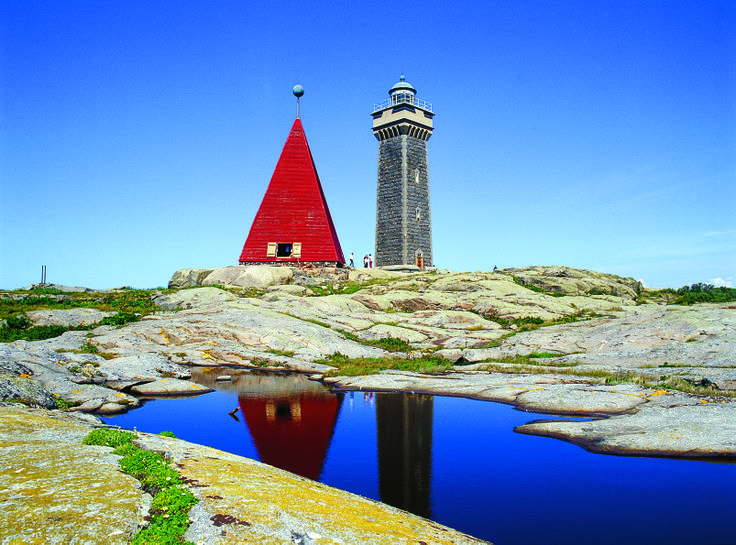 Vinga lighthouse in the #Gothenburg archipelago.