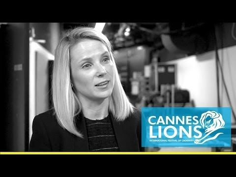 Cannes Lions TV Meets: Marissa Mayer from Yahoo