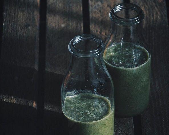 Zielony koktajl z zieloną herbatą, koniecznie spróbuj ten miks