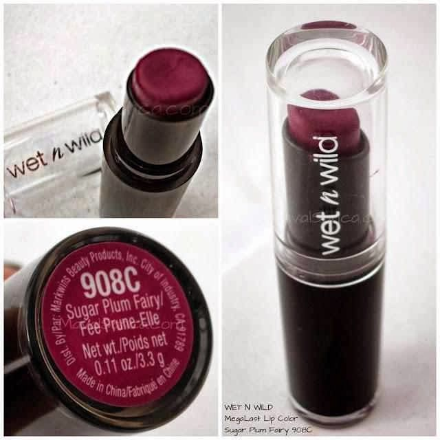 Wet N Wild Sugar Plum Fairy 908C...my very favorite fall Berry lip.  This lipstick is amazing for the price.  Color is just gorgeous!  ~C