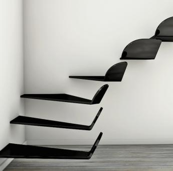 Flying stairs WING by Max Ptk  #architecture #stairs #staircase