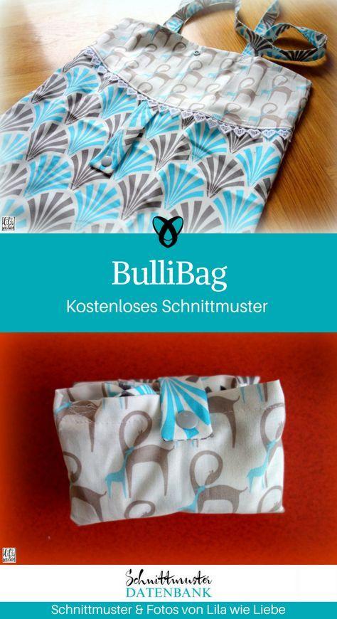 Faltbare Einkaufstasche BulliBag Noch keine Bewertung. | nähen ...