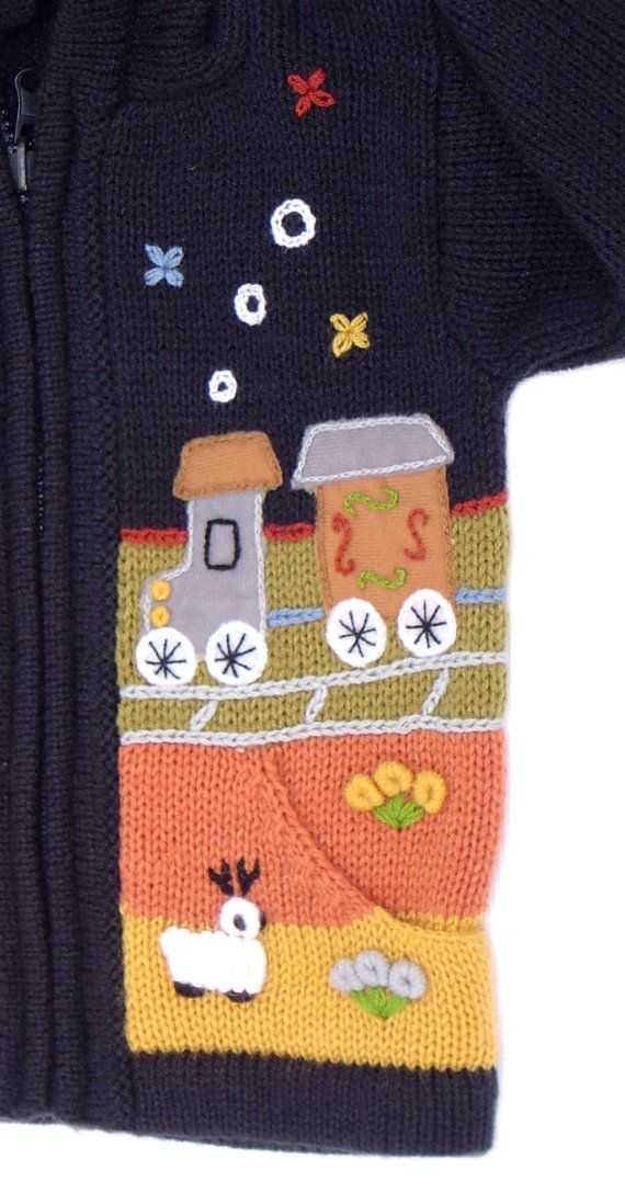 Hooded bleu orange yellow sweater/ lambswool and por Lemondedediego