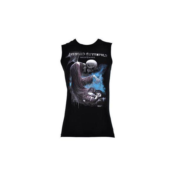 Avenged Sevenfold Face 2 Face t shirt – A7x merch – band t shirts UK (140 BRL) ❤ liked on Polyvore featuring tops, shirts, avenged sevenfold, tank tops, band merch, shirts & tops, black shirt, black top, sleeveless tee shirts e sleeveless tshirt