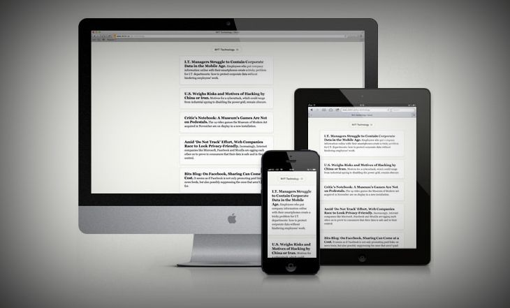 Skimr A Simple Browser Based RSS Feed Reader Rss feed