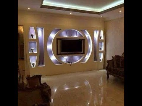 جديد ديكورات بلاكو بلاتر Ba13 لحائط التلفاز جميلة جدااا Decoration Placo Platre Youtube Tv Wall Design Lcd Wall Design Tv Wall Decor