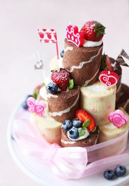 Birthday Cake by chick*pea, via Flickr