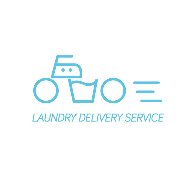 Laundry delivery service Designed by Tal Giat. www.talgiat.com
