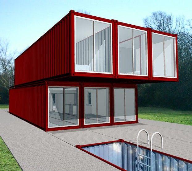 Les 25 meilleures id es de la cat gorie maisons containers for Maison dans container