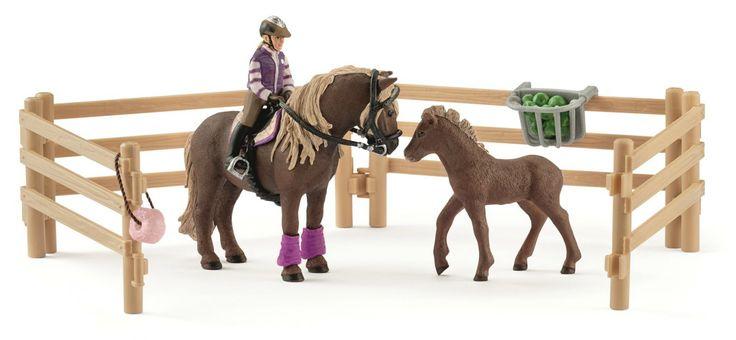Schleich Rider with Icelandic Ponies 42363