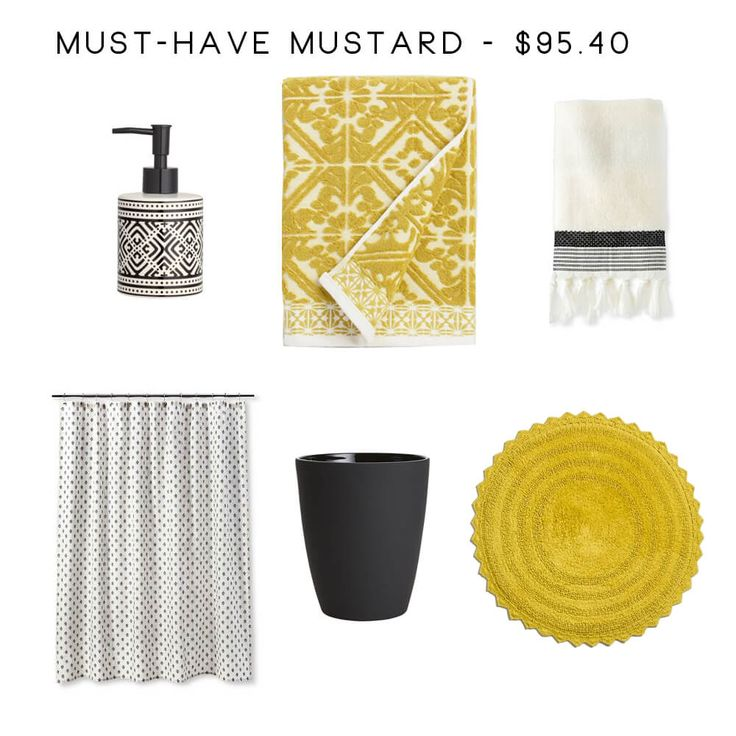 8 Bathroom Accessory Combos to Rescue Your Drab Bathroom - Must Have Mustard
