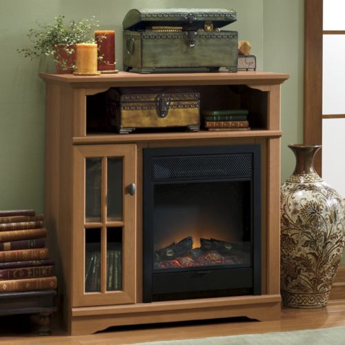 Mission Fireplace Tv Stand From Seventh Avenue