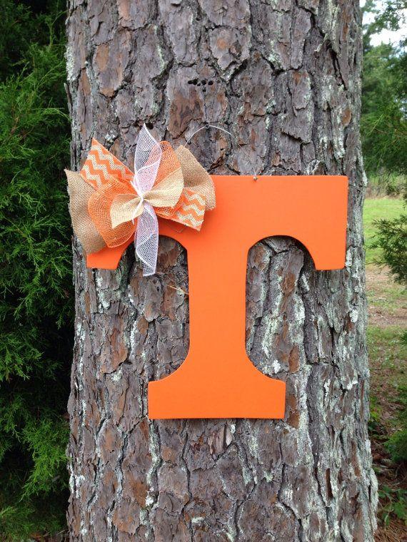 Tennessee vols door hanger Tennessee by Furnitureflipalabama, $25.00