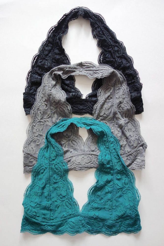 New Halter Style Lace Bralette
