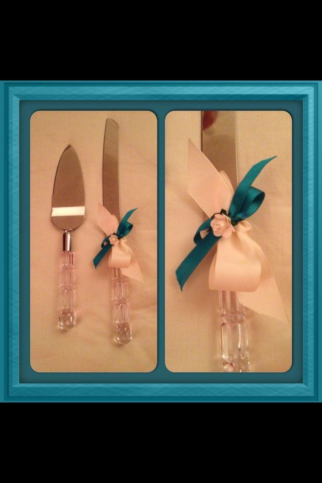 Cake knife set x