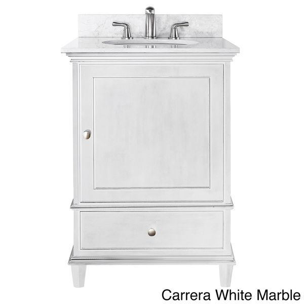 Avanity Windsor 24 Inch Single Vanity In White Finish With Sink And Top By Avanity Small
