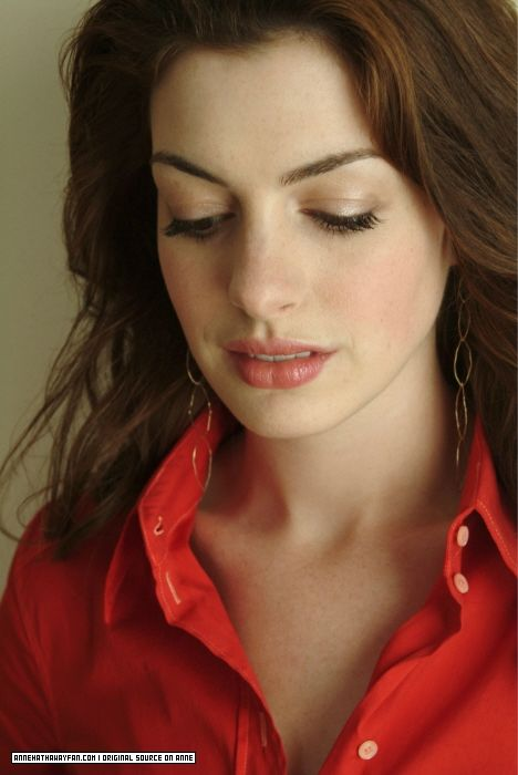 Anne Hathaway-I adore this picture! She is truly one of the most beautiful women in the world!
