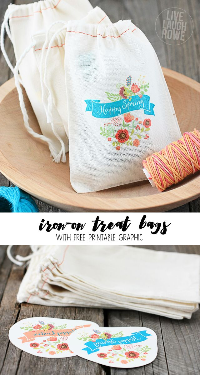 80 best muslin bags images on pinterest muslin bags treat bags free spring and easter iron on transfers these make great little treat bags for negle