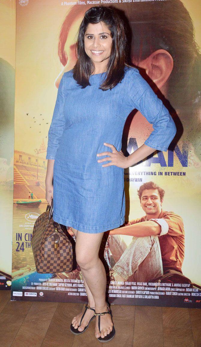 Sai Tamhankar at screening of 'Masaan'. #Bollywood #Masaan #Fashion #Style #Beauty
