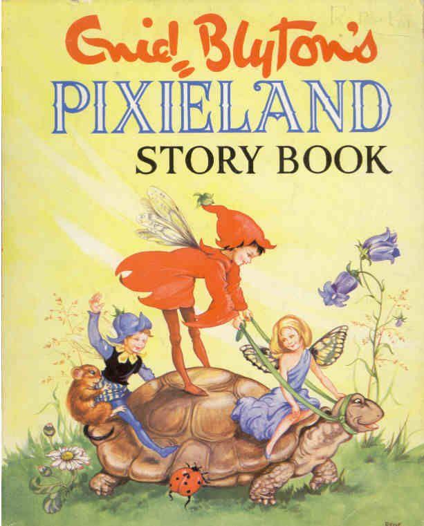 #Vintage #books Enid Blyton She loved her fairy land stories  www.newpublisherhouse.com
