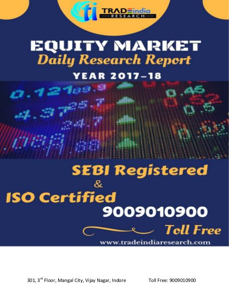 """""""DAILY EQUITY CASH REPORT FOR 16-02-2018 BY TRADEINDIA RESEARCH"""" published by """"tradeindiaresearch08"""" on @edocr"""