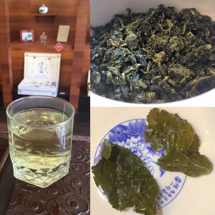 #TieGuanYin, #té oolong de baja oxidación. ¿parece #TéVerde? pero no lo es. Es un típico #TéOolong chino, envuelto en un #aroma más complejo con bouquet de #flores.