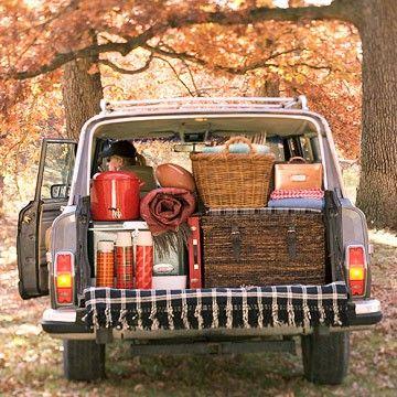 tailgate: Camps Ideas, Borderlinegenius, Borderline Genius, Roads Trips, Tips And Tricks, Fall Picnics, 41 Camps, Camps Tips, Camps Hacks