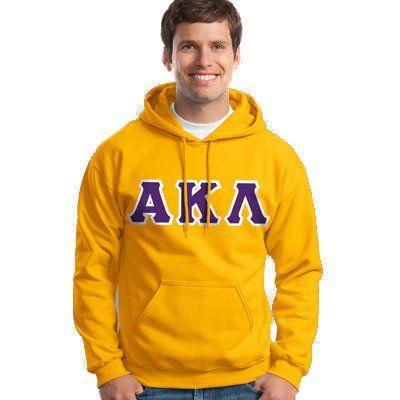 Alpha Kappa Lambda Hooded Sweatshirt - Gildan 18500 - TWILL