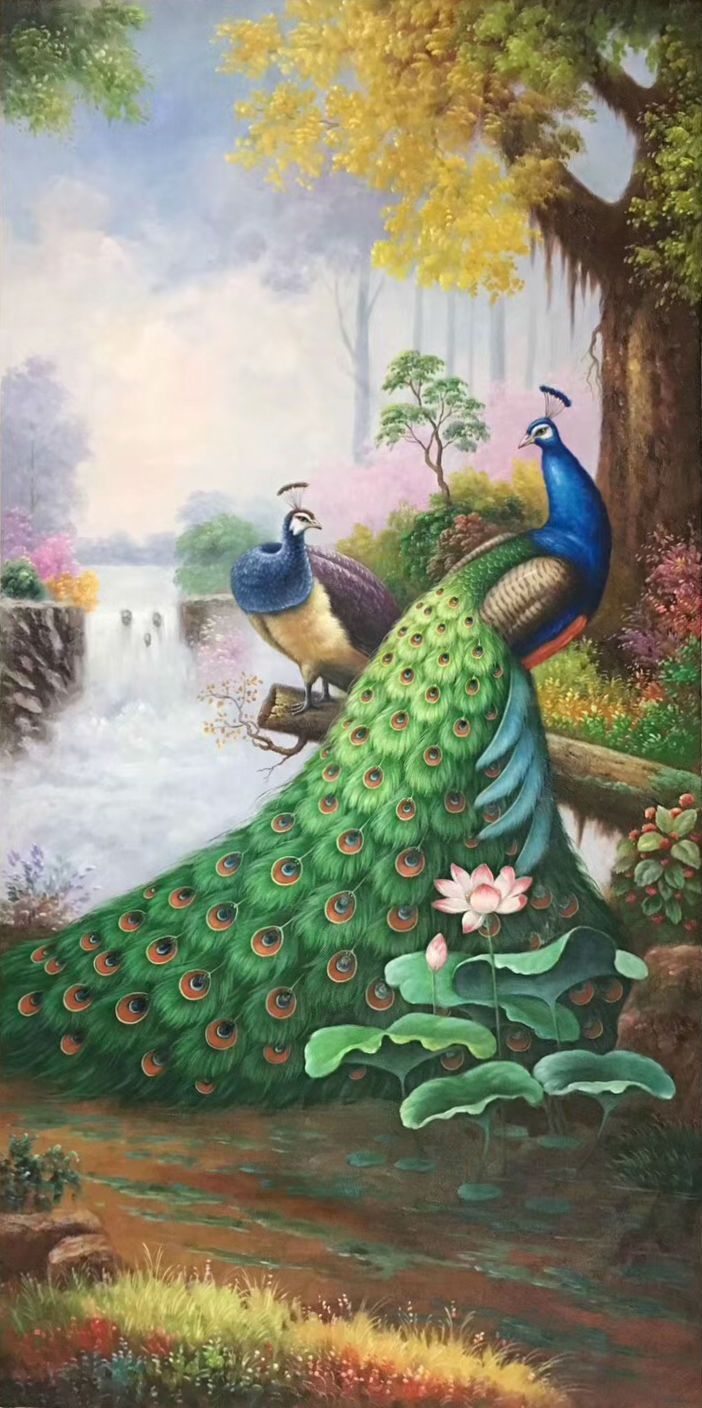 Id K88 Size 80x160cm 33 X63 Inch 100 Hand Made Oil Painting