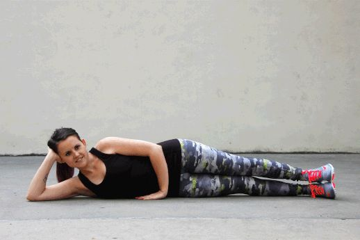 Side-Lying Leg Raise - All The Lower Body Exercises You'll Ever Need - Photos