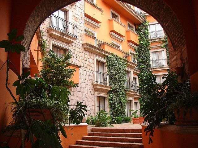 Hotel Quinta Real en Zacatecas Mexico